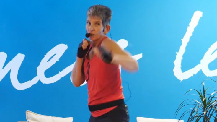 Kickbox Workout mit Claudia